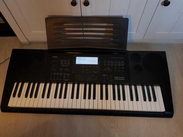 Keyboard Casio CTK-6200