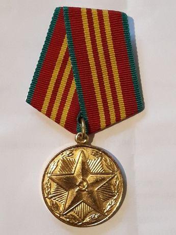 """Медаль """" За безупречную службу """"."""