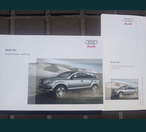 Instrukcja obslugi Audi Q7