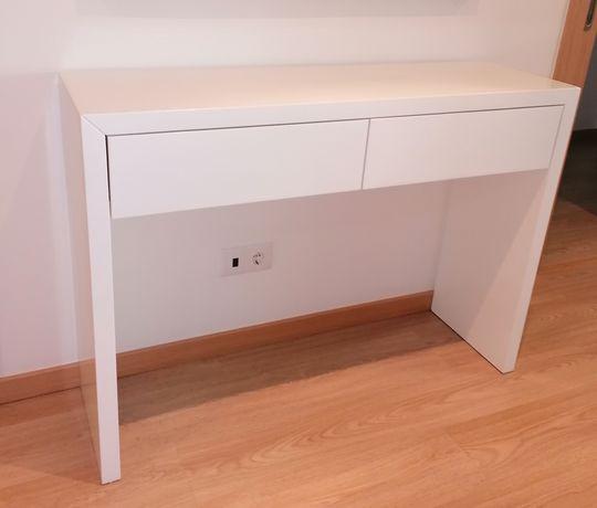 Móvel consola branca lacada (brilho), design moderno, nova