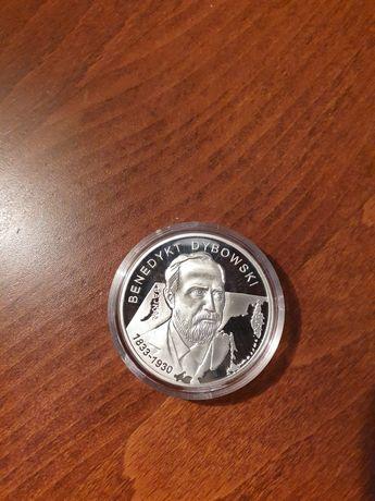 Moneta 10 zł z 2010r. Benedykt Dybowski