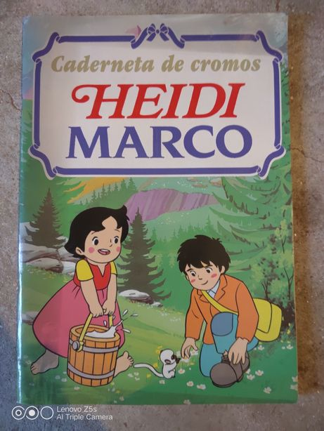 Caderneta Cromos Heidi MARCO