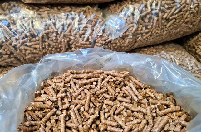 Pellet opałowy/opał, 100% sosna/sosnowy/drzewny 6mm, Fidrob PELLETS