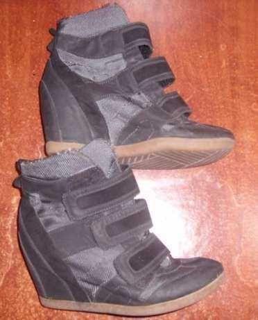 ботинки сникерсы 37