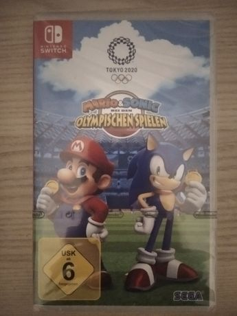 Gra Nintendo Switch Mario & Sonic at the Tokyo Olympic Games 2020