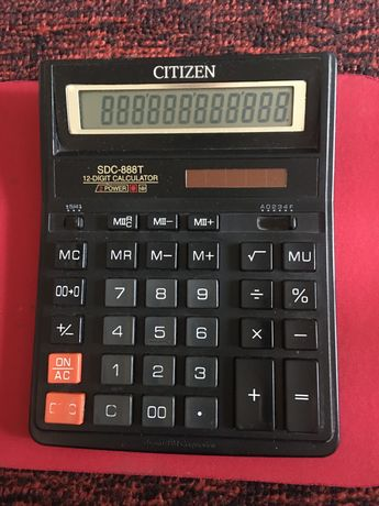 Калькулятор Citizen большой,solar.