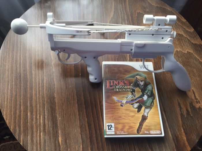 Nintendo Wii, WiiU Links Crossbow Training + kusza Grodków - image 1