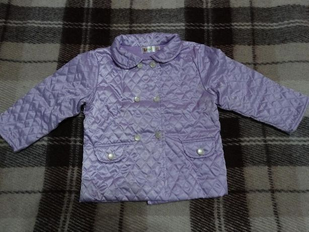 демисезонная курточка р. 24-36 м