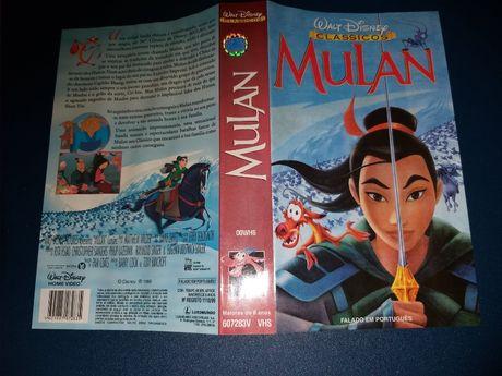VHS Mulan-Clássicos Walt Disney
