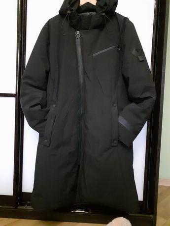 Мужское зимнее пальто-пуховик ,чёрное , размер 2ХL-