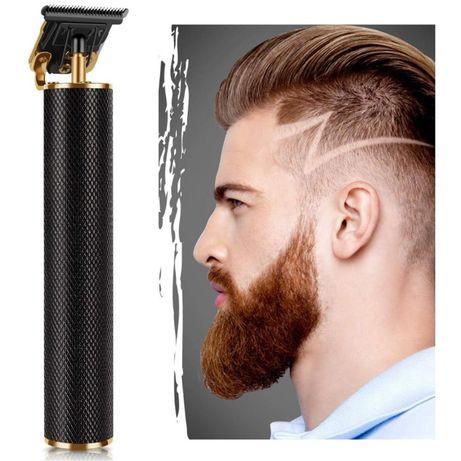 Беспроводная машинка (триммер) для стрижки бороды и волос