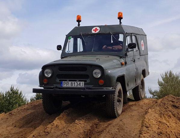 Unikat Uaz 469 Sanitarka silnik Andoria po mechanicznej renowacji,