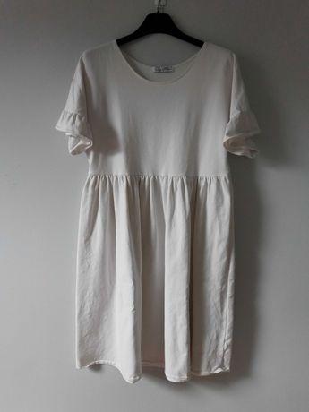 Biała sukienka By Mia M/L