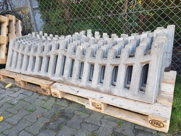 Sprzedam ogrodzenie betonowe