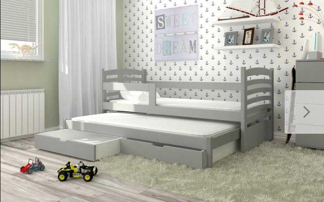 Podwójne łóżeczko dziecięce Olek