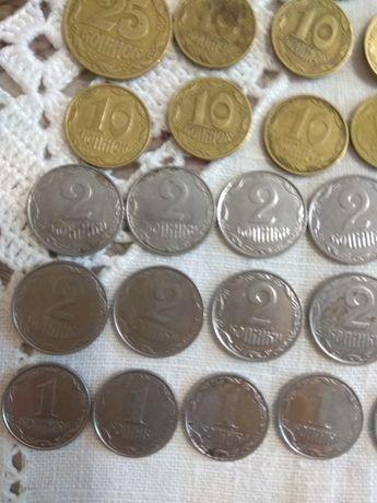 Монеты Украины 1,2,5,10,25,50копейки