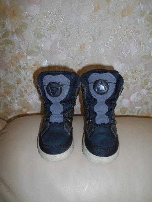 Ботинки детские зимние Ессо Gore Tex, кожа, р.27 (ст.17,5 см). Киев - изображение 1