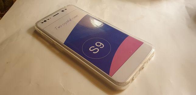 Силиконовый полный чехол Samsung S9