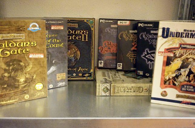 Advanced Dungeons and Dragons - Jogos PC para coleccionadores Caixas