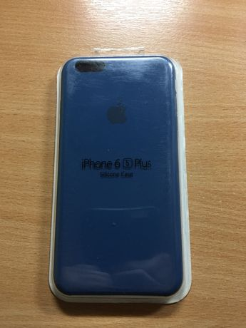 Чехол для iPhone 6s plus(синий)