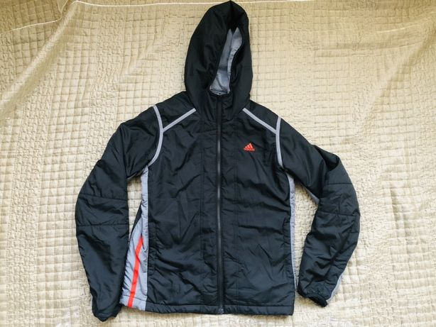 Куртка двусторонняя Adidas. Рост 164