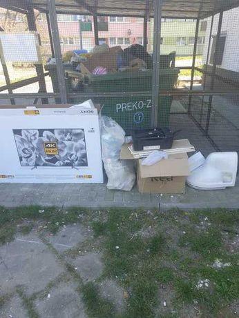 utylizacja rozbiórki sprzątanie wywóz likwidacja mieszkań tanio