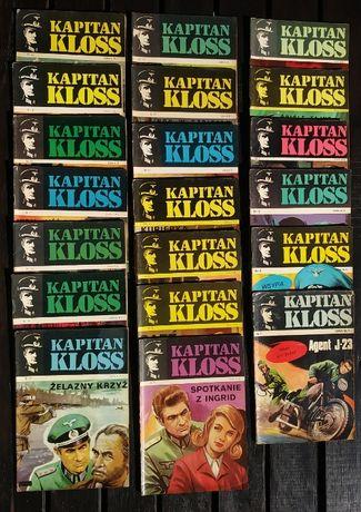 Komiks Kapitan Kloss pierwsze wydanie 20 zeszytów KOMPLET