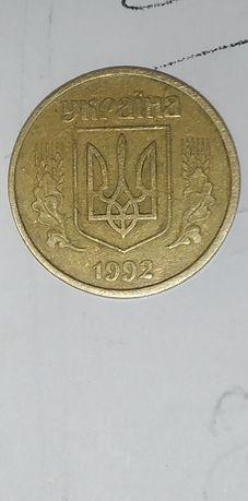 Продам монету 50 копійок 4 ягоди в треті грозді штамп 2.1 бам зазубрен