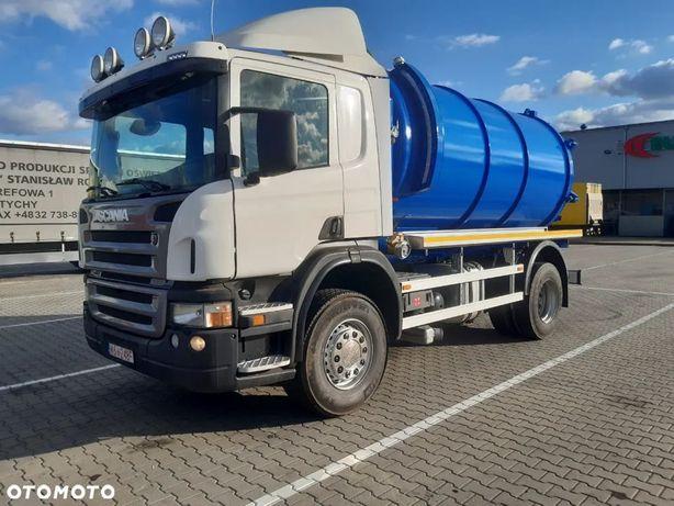 Scania P270  Scania P270 asenizacyjny nowa zabudowa 12m³ specjalny szambiarka