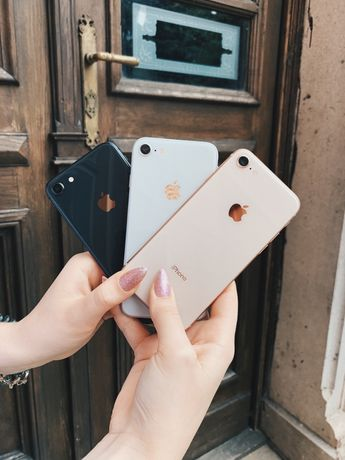 iPhone 8 64\256 Space Gold Red Silver Neverlock/RSim Гарантія Магазин