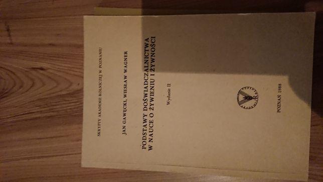 Podręcznik doświadczalnictwo w nauce o żywieniu