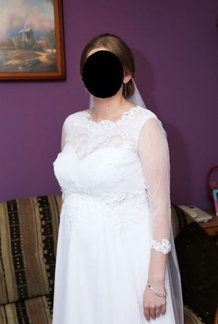 Suknia ślubna dla ciężarnej Polecam