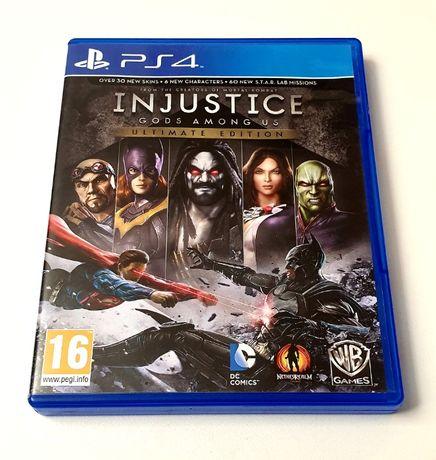 Gra Injustice Gods Among Us PL PS4 Playstation 4