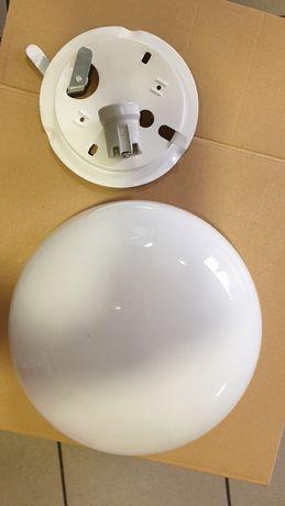 Lampa z kloszem okrągła