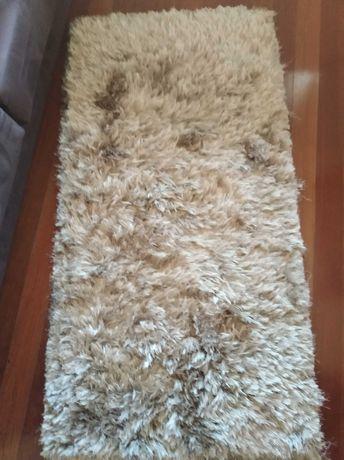 Conjunto de tapetes de pêlo comprido