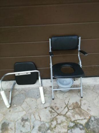 Sprzedam siedzisko z toaletą dla osoby niepełnosprawnej