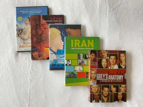 Conjunto de DVDs (Francês e Inglês) !Preço pelo conjunto!