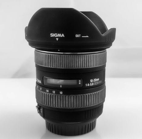 Obiektyw Sigma 10-20mm F4-5.6 EX DC HSM Canon EF-S