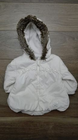 Zimowa kurtka/ kurteczka dla małej dziewczynki 68cm