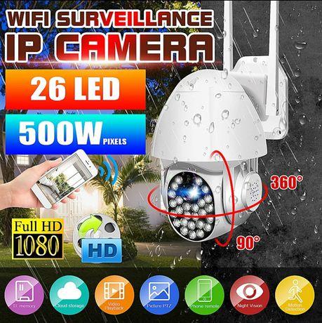 Kamera zewnętrzna obrotowa Wi-Fi 5Mpx IP Monitoring/PTZ/IP66/