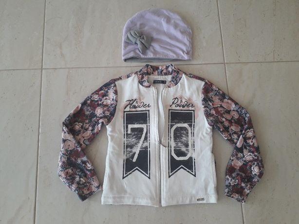 Bomberka kurtka kurteczka bluza WÓJCIK + czapka