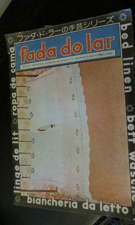 Fada do Lar - Especial Roupa Cama Nº9/81 - Inclui moldes já feitos
