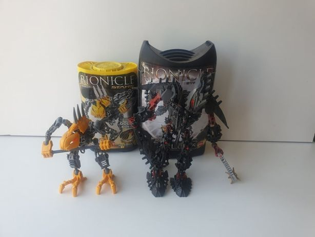 Lego Bionicle Stronius oraz Rahkshi- dawcy