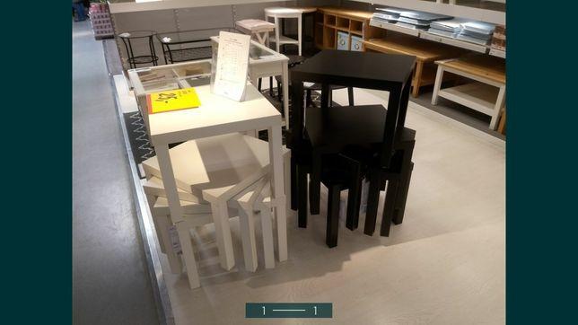 Srolik kawowy Ikea biały