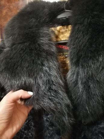 Шуба натуральная из козочки