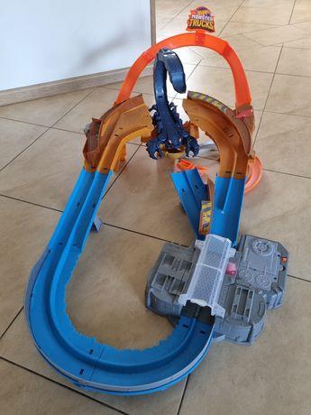 Hot wheels skorpion, elektryczna wyrzutnia