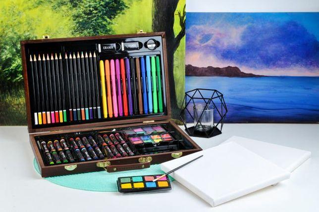 Набор для рисования живописи в кейсе 81ел набір для малювання