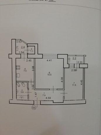 2х кімнатна квартира від власника