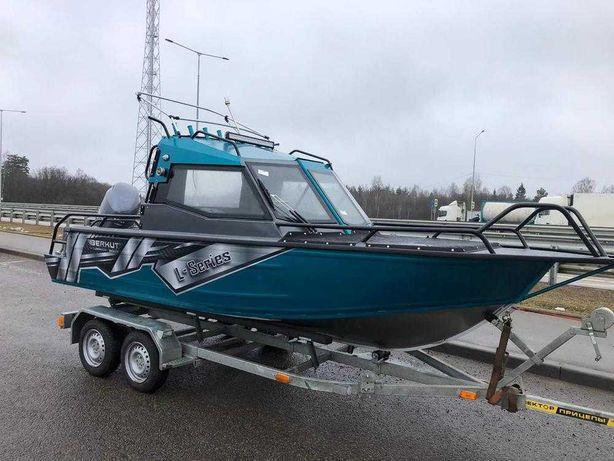 Алюминиевая моторная лодка Беркут L-HT Open