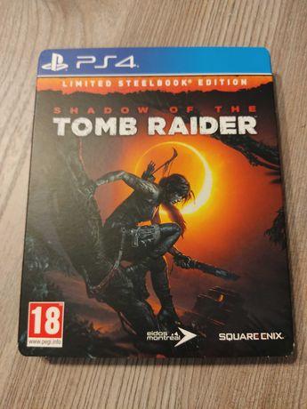 Jogo PS4 Shadow of The Tomb Raider - Limited Steelbook - Como Novo